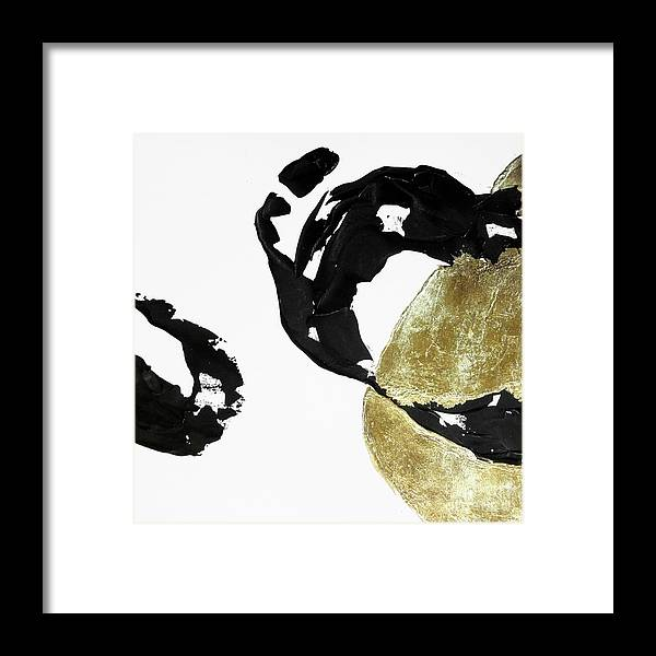 Original Watercolors Framed Print featuring the painting Black Gold 1 by Chris Paschke