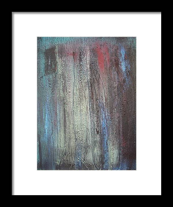 Paintings Framed Print featuring the painting Black No 2 Sold by Elizabeth Klecker