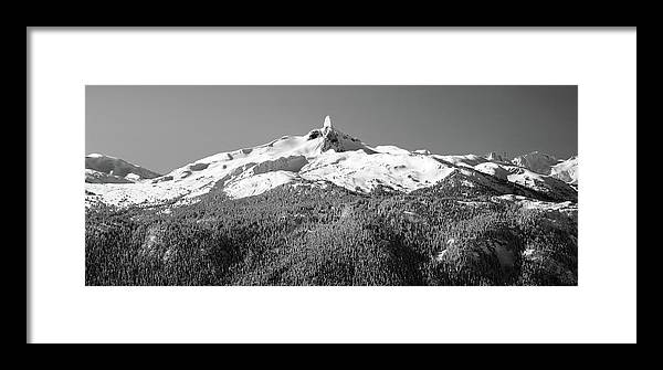 Black Tusk Framed Print featuring the photograph Black Tusk by Pierre Leclerc Photography