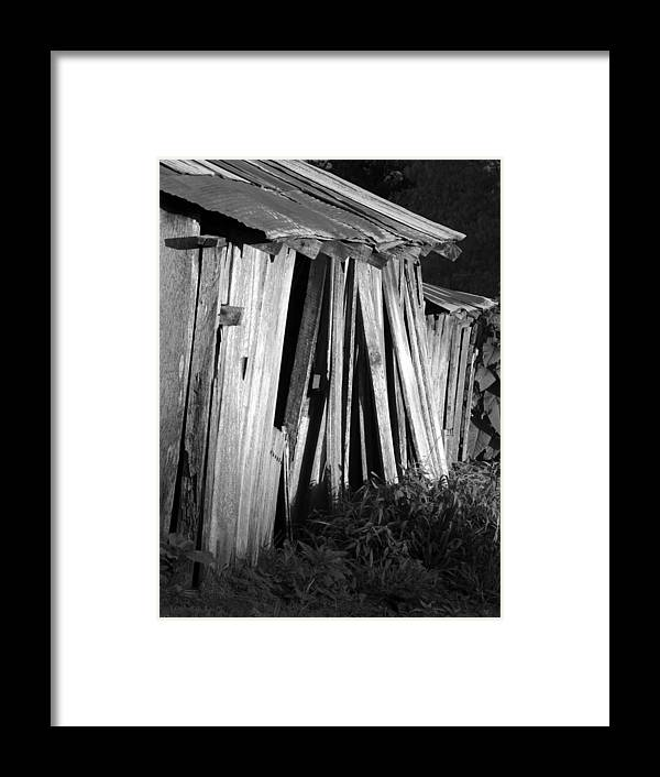 Ansel Adams Framed Print featuring the photograph Blackburn-barn by Curtis J Neeley Jr