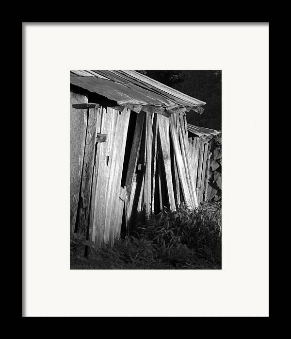 Ansel Adams Framed Print featuring the photograph Blackburn-barn by Curtis J Neeley Jr