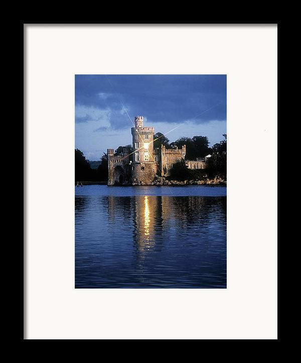 Architectural Exteriors Framed Print featuring the photograph Blackrock Castle, River Lee, Near Cork by The Irish Image Collection