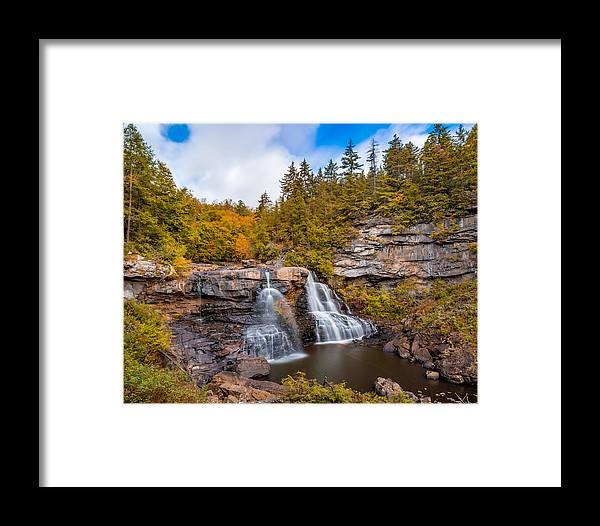 Waterfalls Framed Print featuring the photograph Blackwater Falls by Jason Lemley