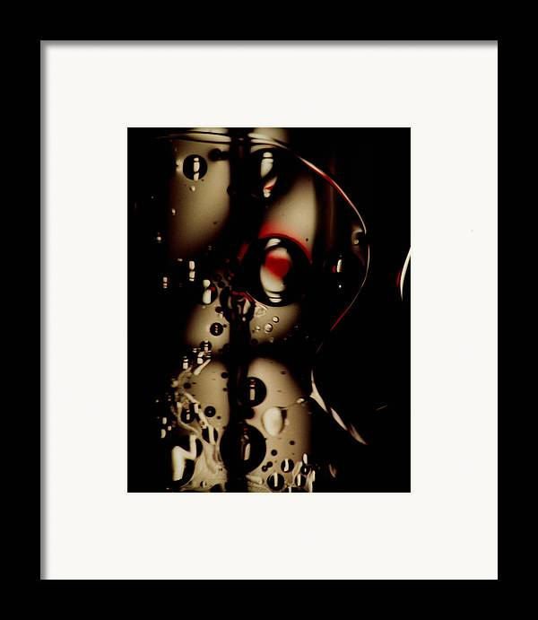 Abstract Framed Print featuring the photograph Blade Runner by David Rivas