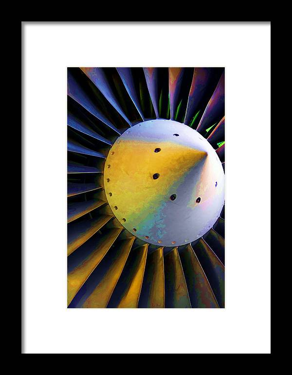 Airplane Framed Print featuring the photograph Blades Of Fury by Ricky Barnard