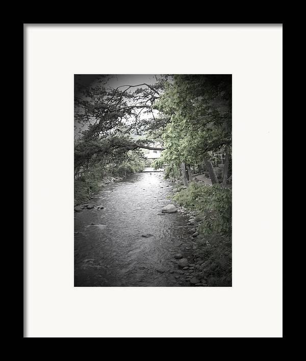 Creek Framed Print featuring the photograph Blaim It On The Rain by Jessica Burgett