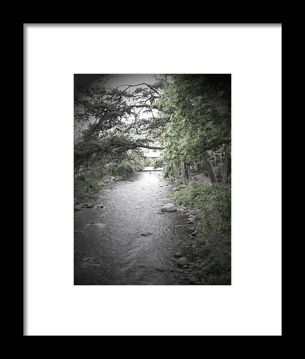 Creek Framed Print featuring the photograph Blaim It On The Rain by Jessica Burgett