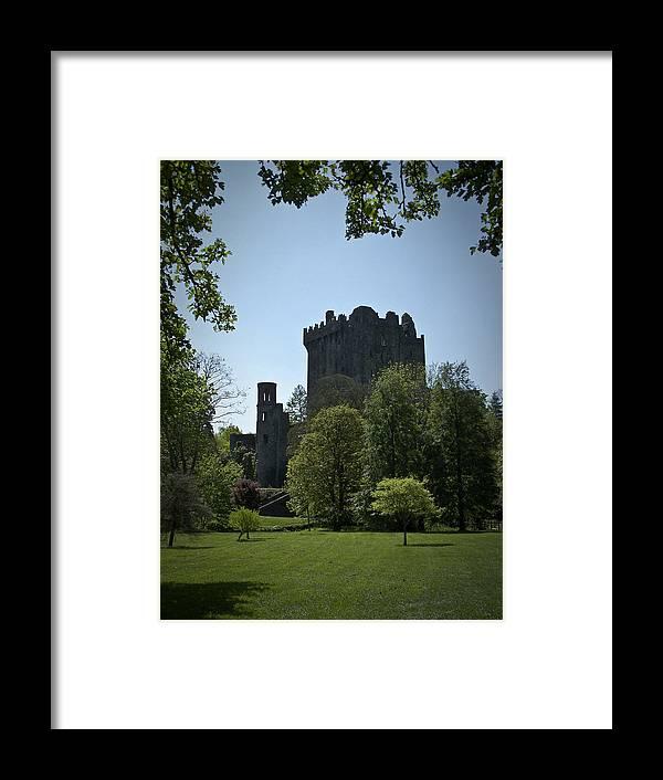 Irish Framed Print featuring the photograph Blarney Castle Ireland by Teresa Mucha
