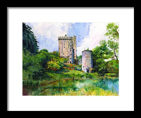 Blarney Castle Landscape by John D Benson