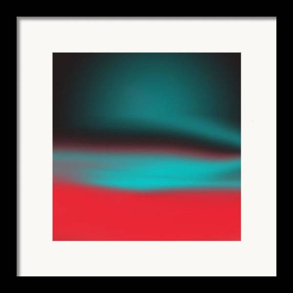 Digital Framed Print featuring the digital art Blended by Alice Lipping