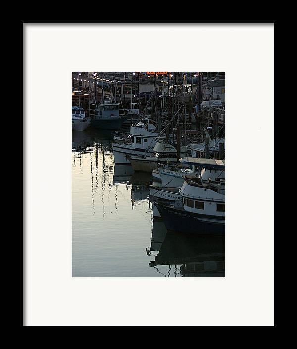 Boats Framed Print featuring the photograph Blind Faith by Donna Thomas