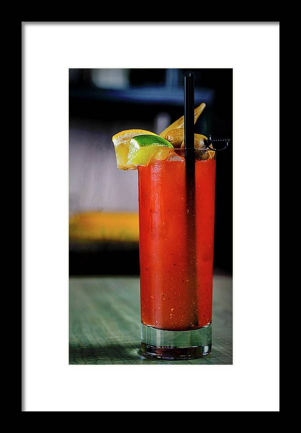 Bloody Mary Framed Print featuring the photograph Bloody Mary by Ryan Smith