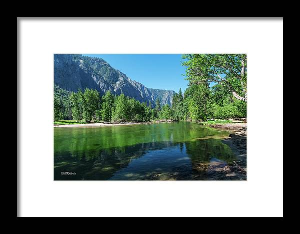 California Framed Print featuring the photograph Blue And Green River by Bill Roberts