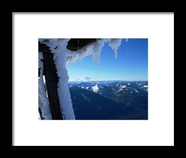 Landscape Framed Print featuring the photograph Blue Day by Mark Camp