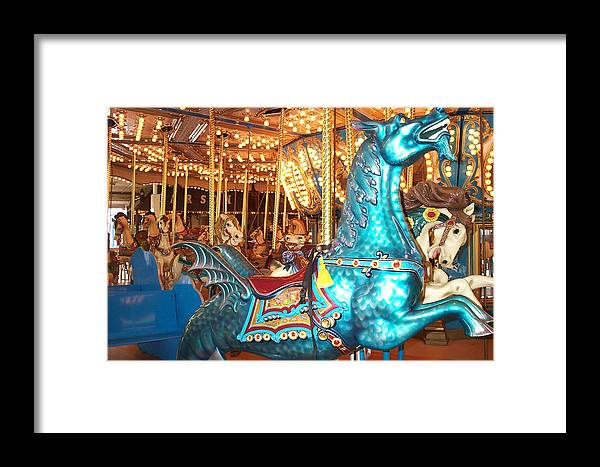 Dragon Framed Print featuring the photograph Blue Dragon by Barbara McDevitt