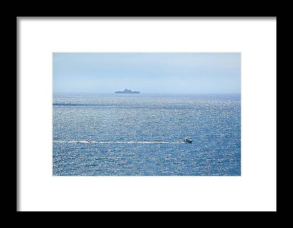 Beach Framed Print featuring the photograph Blue Dream by Leticia GG