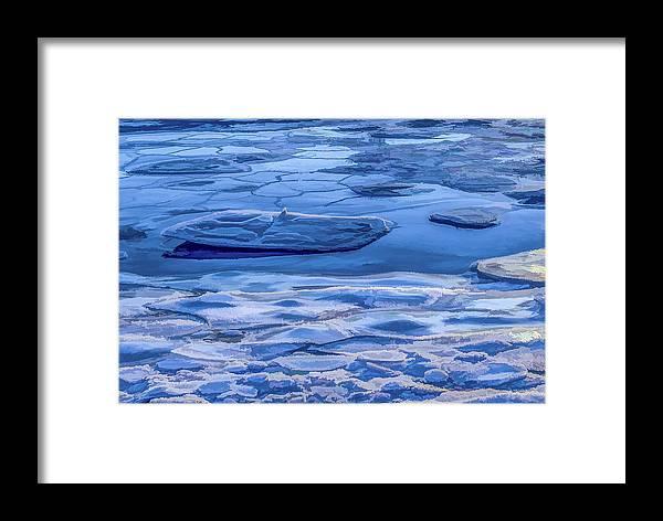 Jeffrey Friedkin Photography Framed Print featuring the photograph Blue Ice by Jeffrey Friedkin