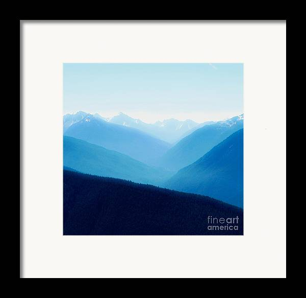 Infinity Framed Print featuring the photograph Blue Infinity by Idaho Scenic Images Linda Lantzy