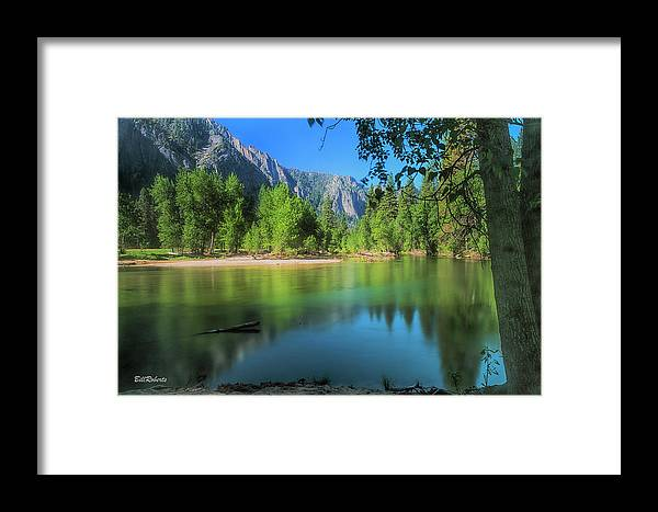California Framed Print featuring the photograph Blue Mood In Yosemite by Bill Roberts