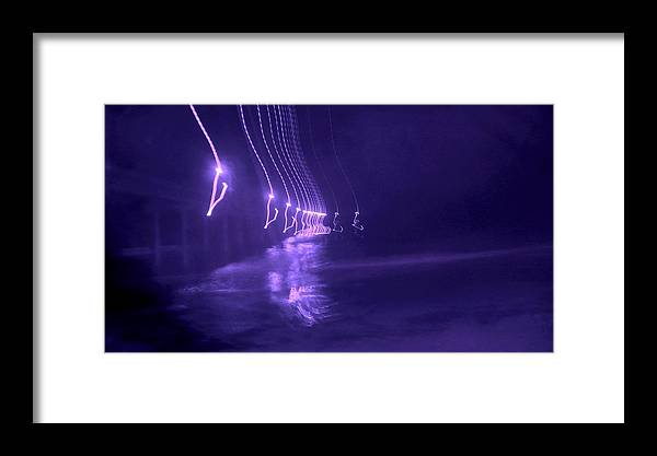 Ocean Framed Print featuring the photograph Blue Ocean by Guillermo Mason