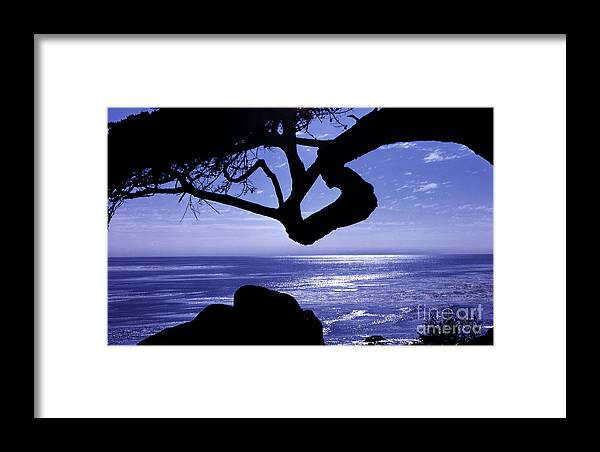 Ocean Framed Print featuring the photograph Blue Ocean by Timothy Johnson