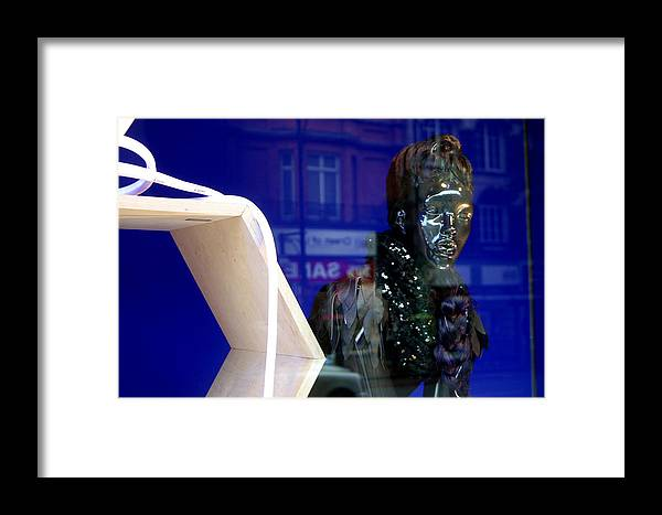Jez C Self Framed Print featuring the photograph Blue Queen by Jez C Self