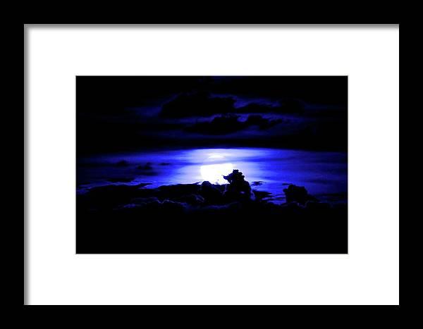 Blue Framed Print featuring the photograph Blue by Sandeep Kumar Dogra