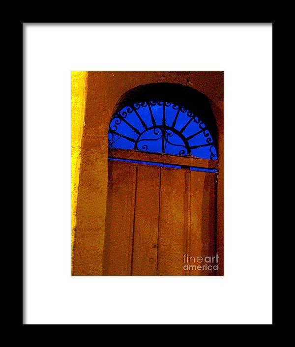 Michael Fitzpatrick Framed Print featuring the photograph Blue Twilight By Michael Fitzpatrick by Mexicolors Art Photography