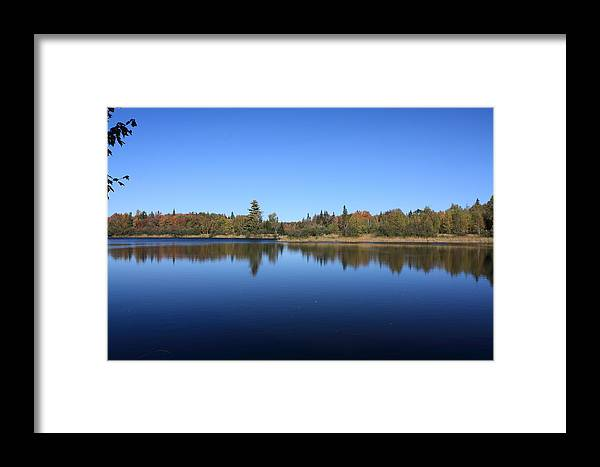 Water Framed Print featuring the photograph Blue Water by Lewis Journeyman