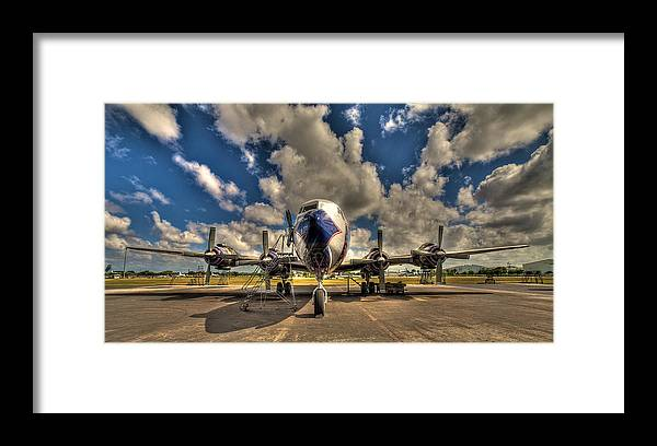 Aircraft Framed Print featuring the photograph Blue Yonder by William Wetmore