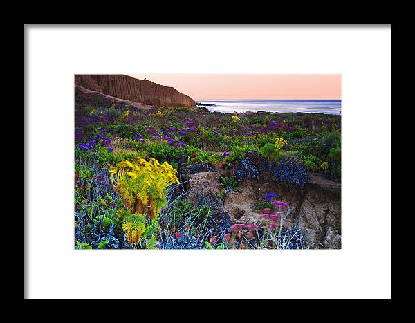 Beaches Framed Print featuring the photograph Blustery Sunrise by Greg Clure