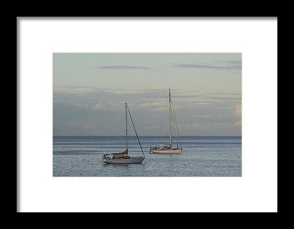 Boats Framed Print featuring the photograph Boats On The Water by Samantha Peel