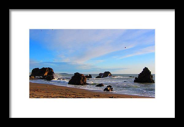 Bodega Bay Framed Print featuring the photograph Bodega Bay Sunset by Brad Scott