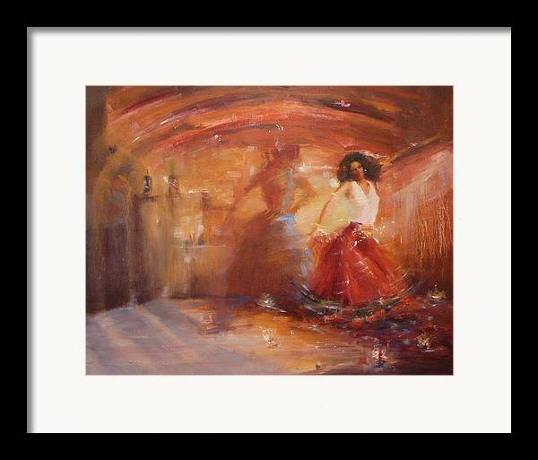 Dance Framed Print featuring the painting Sold Bohemian by Irena Jablonski