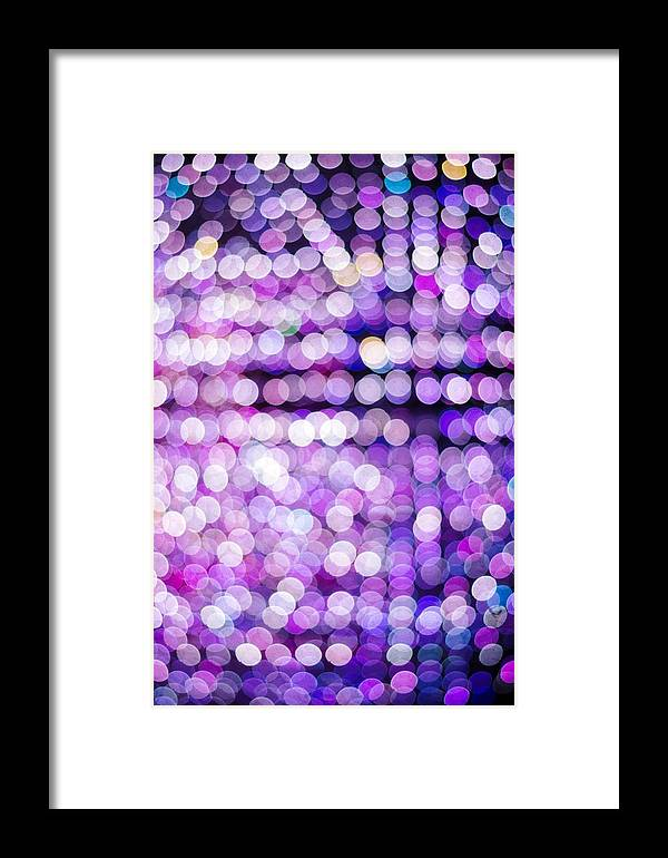 Abstract Framed Print featuring the photograph Bokeh by Jijo George