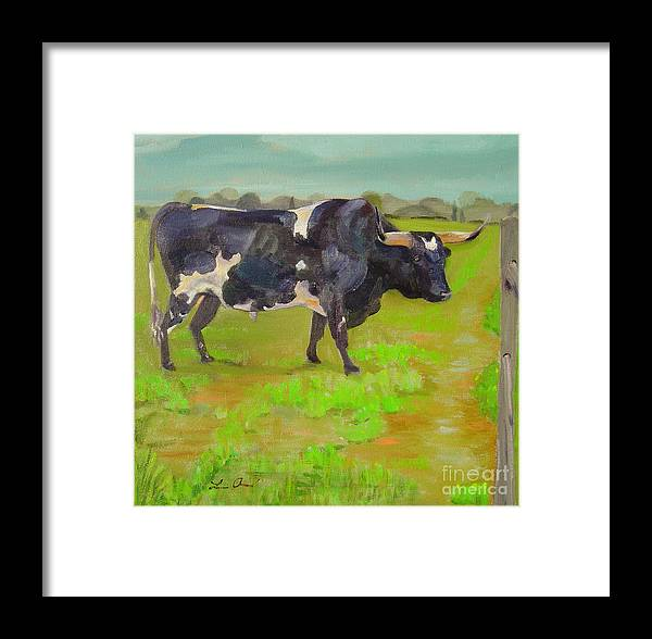Southwest Framed Print featuring the painting Bold Beauty by Lilibeth Andre