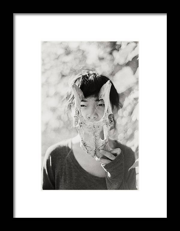 Bones Framed Print featuring the photograph Bones by Misael Nevarez