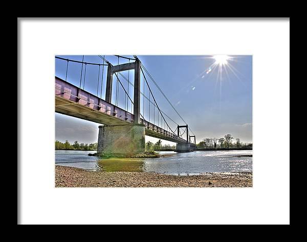 Bridge Framed Print featuring the photograph Bonny Bridge by Jan Carr