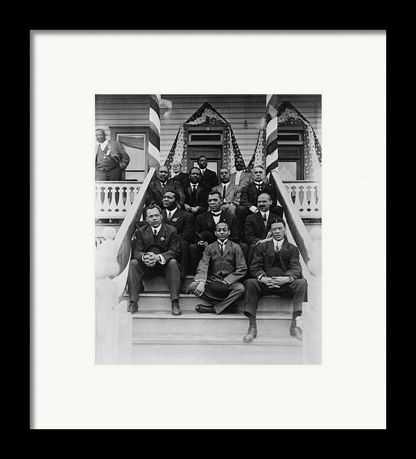 History Framed Print featuring the photograph Booker T. Washington 1856-1915, Second by Everett
