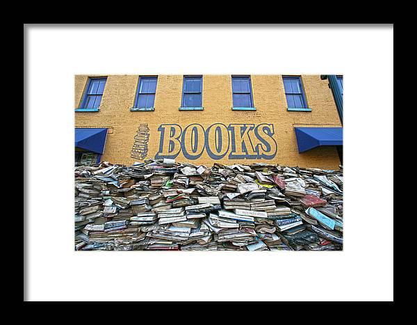 Books Framed Print featuring the photograph Books by Robert Och
