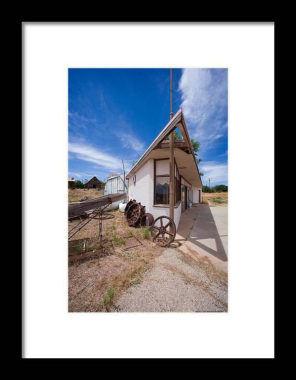 U.s.a. Framed Print featuring the photograph Bookstore by Luigi Barbano BARBANO LLC
