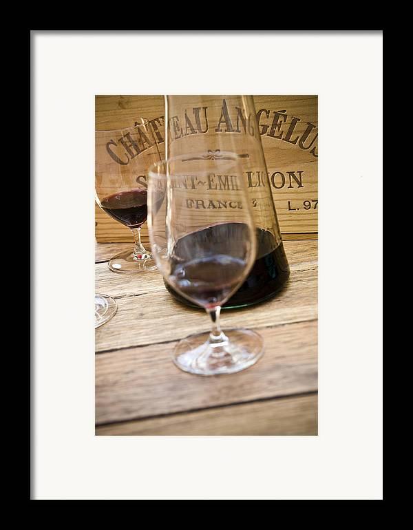 Frank Tschakert Framed Print featuring the photograph Bordeaux Wine Tasting by Frank Tschakert