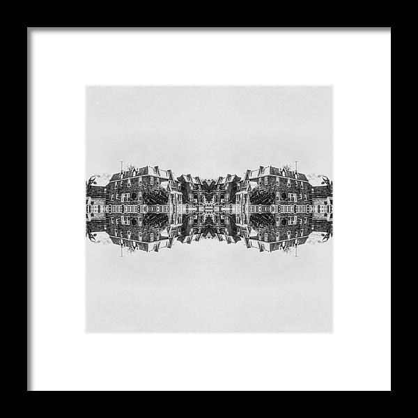 Saint Albans Framed Print featuring the photograph Winter Brick Saint Albans by Jacques Polanco