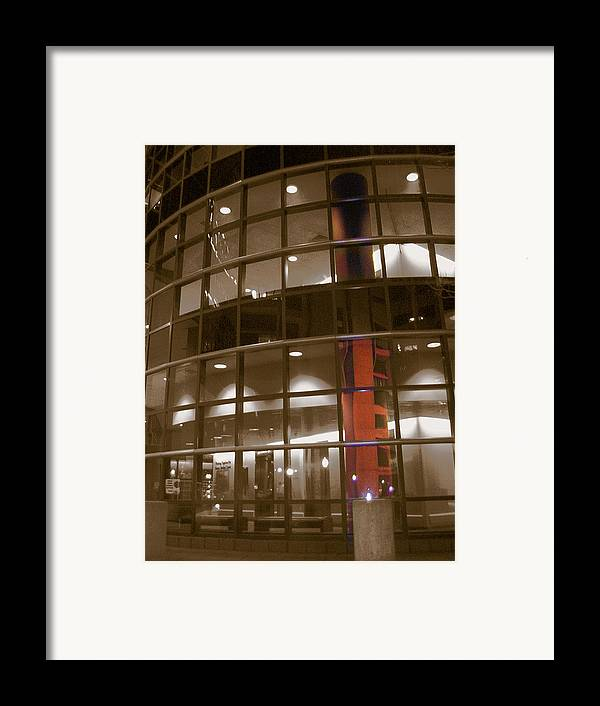 Boston Medical Center Framed Print featuring the photograph Boston Medical Exterior by Heather Weikel