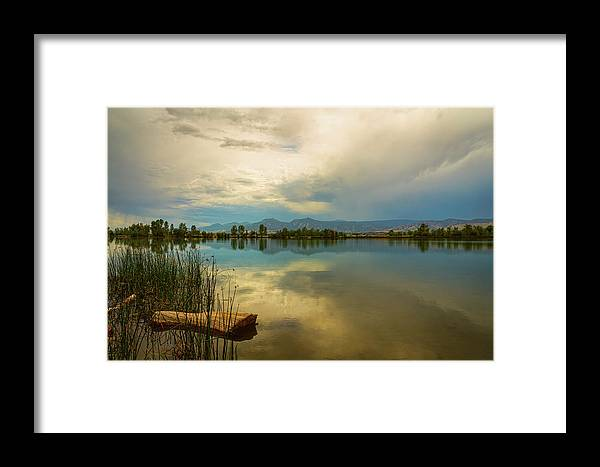 Boulder Framed Print featuring the photograph Boulder County Colorado Calm Before The Storm by James BO Insogna