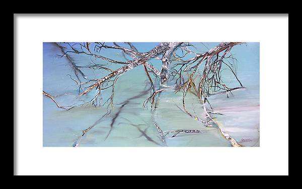 Jack Framed Print featuring the painting Branches by Jack Diamond