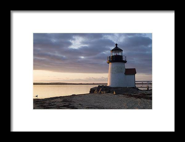 Nantucket Framed Print featuring the photograph Brant Point Light Number 1 Nantucket by Henry Krauzyk