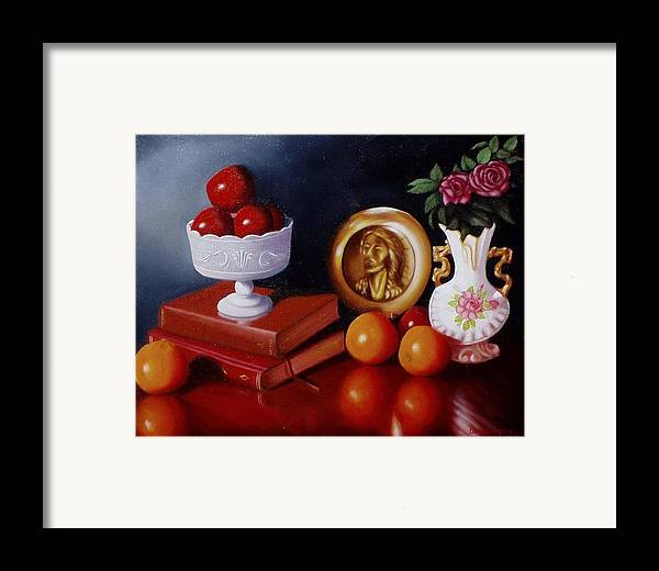 Still Life Framed Print featuring the painting Bravo by Gene Gregory