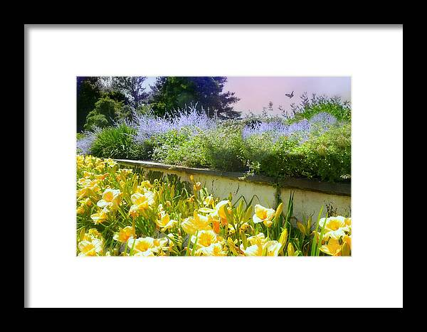 Breadth Of Summer Framed Print featuring the photograph Breadth Of Summer by Diana Angstadt