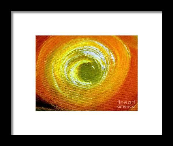 Sun Framed Print featuring the painting Break Of Dawn by Dawn Hough Sebaugh